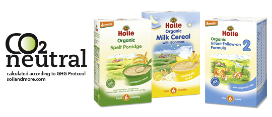 Co2e neutral products holle baby food carbon footprint co2 balance of holle infant formula porridges and milk cereals ccuart Images